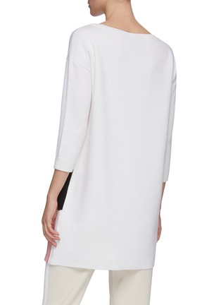 Back View - Click To Enlarge - ALICE + OLIVIA - 'Stace Face' tunic sweater