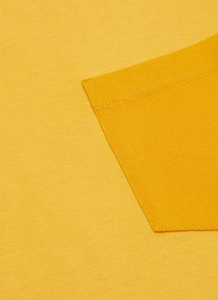 - THEORY - Patch pocket piqué cotton T-shirt