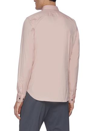 Back View - Click To Enlarge - THEORY - 'Sylvain' placket shirt