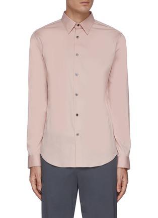 Main View - Click To Enlarge - THEORY - 'Sylvain' placket shirt