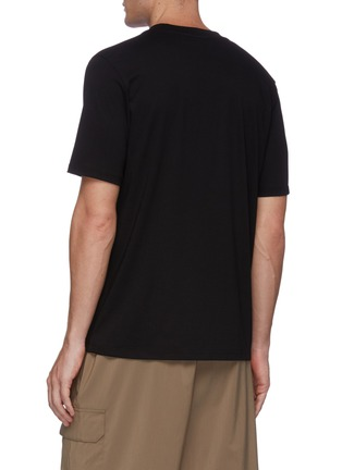 Back View - Click To Enlarge - JIL SANDER - Classic crewneck T-shirt