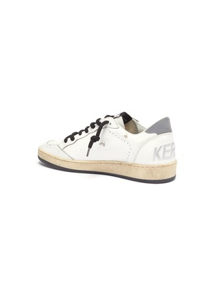 - GOLDEN GOOSE - Ballstar reflective patch rope lace sneakers