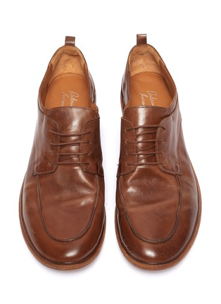Detail View - Click To Enlarge - ANTONIO MAURIZI - Todi leather derby shoes