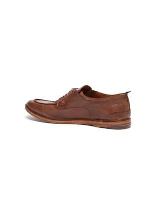 - ANTONIO MAURIZI - Todi leather derby shoes