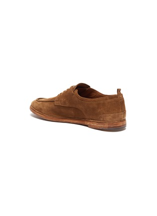 - ANTONIO MAURIZI - Suede soft derby shoes