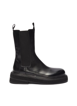 Main View - Click To Enlarge - MARSÈLL - Zuccone' high leather Chelsea boots