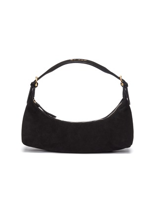 Main View - Click To Enlarge - BY FAR - 'Mara' suede leather baguette shoulder bag