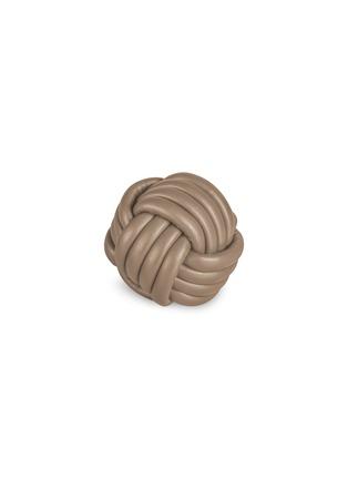 Main View - Click To Enlarge - GIOBAGNARA - Nodo nappa leather paperweight