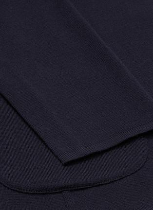 - LARDINI - Notch lapel wool blazer