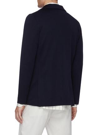 Back View - Click To Enlarge - LARDINI - Notch lapel wool blazer