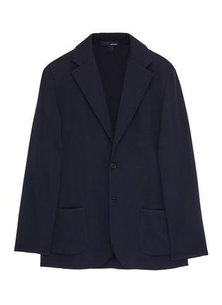 Main View - Click To Enlarge - LARDINI - Notch lapel wool blazer