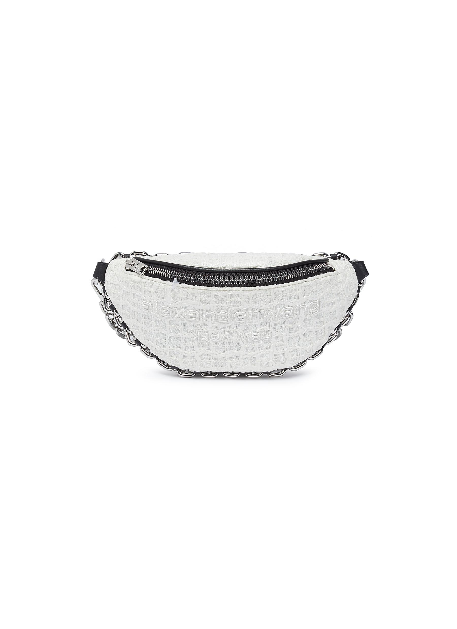 Alexander Wang 'ATTICA' TWEED BUM BAG