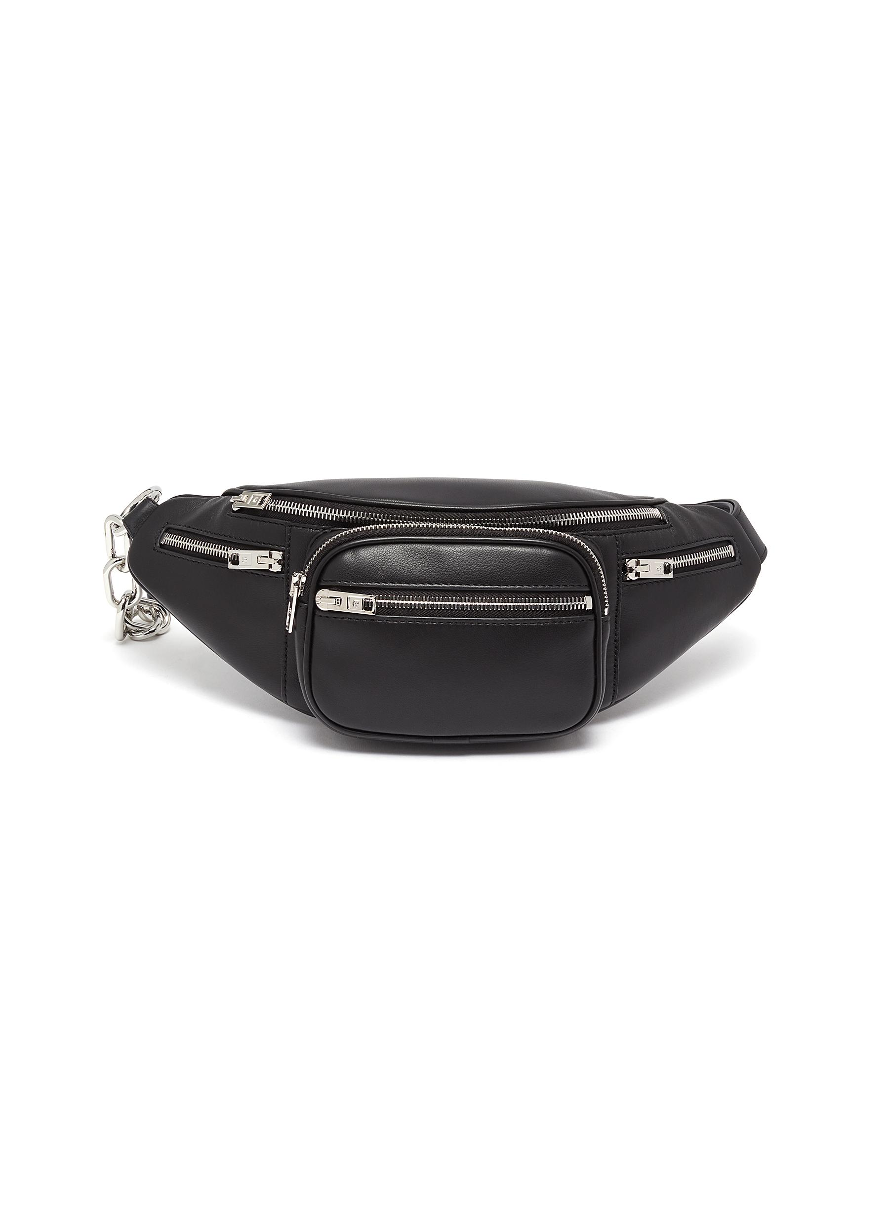Alexander Wang 'ATTICA' LAMBSKIN LEATHER BUM BAG