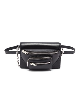 Main View - Click To Enlarge - ALEXANDER WANG - Attica leather three way bag