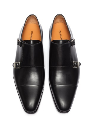 Detail View - Click To Enlarge - MAGNANNI - Double monk shoes