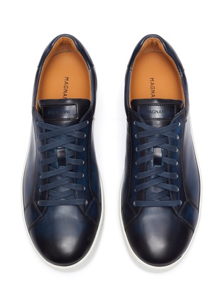 Detail View - Click To Enlarge - MAGNANNI - Patina tennis sneakers