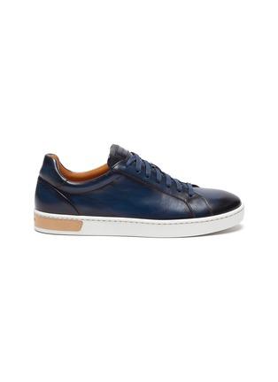 Main View - Click To Enlarge - MAGNANNI - Patina tennis sneakers