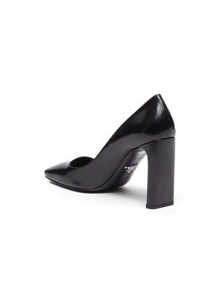 - PRADA - Square toe leather pumps