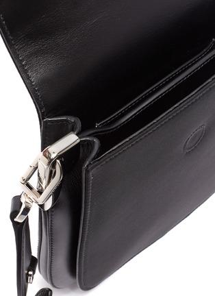 Detail View - Click To Enlarge - PRADA - Margit nylon saddle crossbody bag