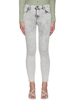 Main View - Click To Enlarge - J BRAND - Alana' Crop Leg Denim Skinny Jeans