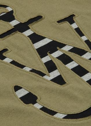 - JW ANDERSON - Lasercut anchor print T-shirt