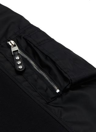 - ALEXANDER MCQUEEN - Side pocket nylon jogging pants