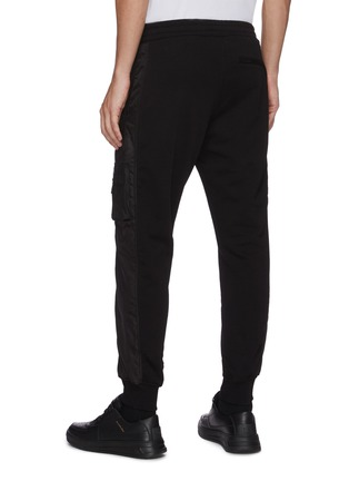 Back View - Click To Enlarge - ALEXANDER MCQUEEN - Side pocket nylon jogging pants