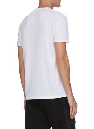 Back View - Click To Enlarge - ALEXANDER MCQUEEN - Atelier graphic print T-shirt