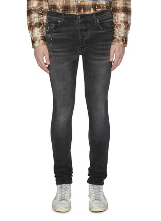 Main View - Click To Enlarge - AMIRI - Skinny stack jeans