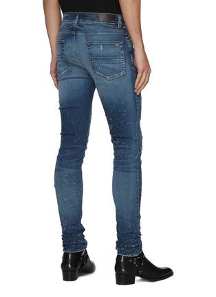 Back View - Click To Enlarge - AMIRI - 'Shotgun' distressed skinny jeans