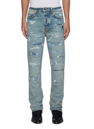 Main View - Click To Enlarge - AMIRI - 'Bruise' distressed jeans