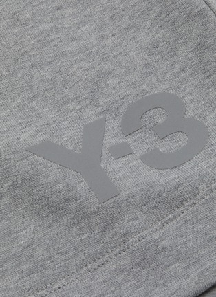 - Y-3 - Drawstring elastic waist sweatshorts