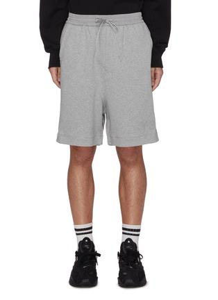 Main View - Click To Enlarge - Y-3 - Drawstring elastic waist sweatshorts