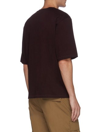 Back View - Click To Enlarge - 3.1 PHILLIP LIM - Boxy oversize T-shirt