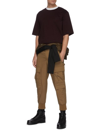 Figure View - Click To Enlarge - 3.1 PHILLIP LIM - Boxy oversize T-shirt