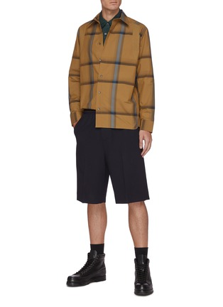 Figure View - Click To Enlarge - 3.1 PHILLIP LIM - Oversized check shirt