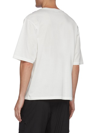 Back View - Click To Enlarge - 3.1 PHILLIP LIM - Roadster print boxy T-shirt