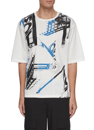 Main View - Click To Enlarge - 3.1 PHILLIP LIM - Roadster print boxy T-shirt