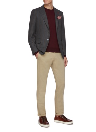 Figure View - Click To Enlarge - ISAIA - Classic crewneck wool sweater