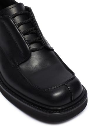 Detail View - Click To Enlarge - PRADA - Split toe derby shoes