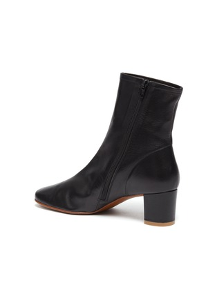 - BY FAR - Sofia leather ankle boots