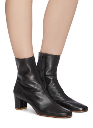 Figure View - Click To Enlarge - BY FAR - Sofia leather ankle boots