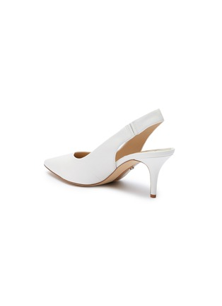 - SAM EDELMAN - Jeckel sweetheart vamp sling back heeled sandals
