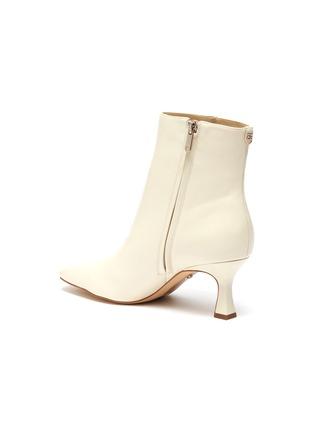 - SAM EDELMAN - 'Lizzo' square toe leather ankle boots