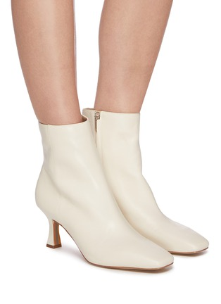 Figure View - Click To Enlarge - SAM EDELMAN - 'Lizzo' square toe leather ankle boots