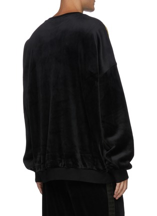 Back View - Click To Enlarge - ANGEL CHEN - 'Universe' mixed embroidery sweater