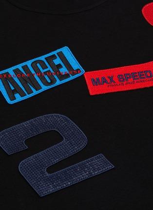 - ANGEL CHEN - Mixed patch T-shirt
