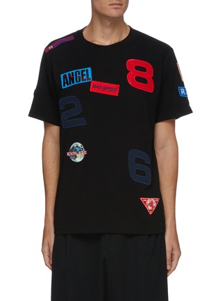 Main View - Click To Enlarge - ANGEL CHEN - Mixed patch T-shirt