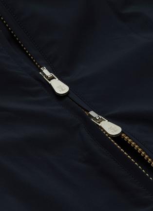 - BRUNELLO CUCINELLI - Reversible zip front bomber jacket