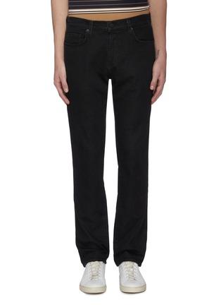 Main View - Click To Enlarge - J BRAND - 'Kane' dark wash straight leg jeans